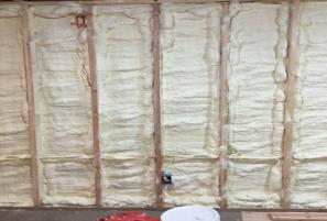Retrofoam Insulation